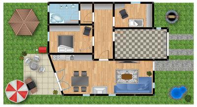 Creazione gratuita delle planimetrie degli immobili online for Planimetrie di case personalizzate